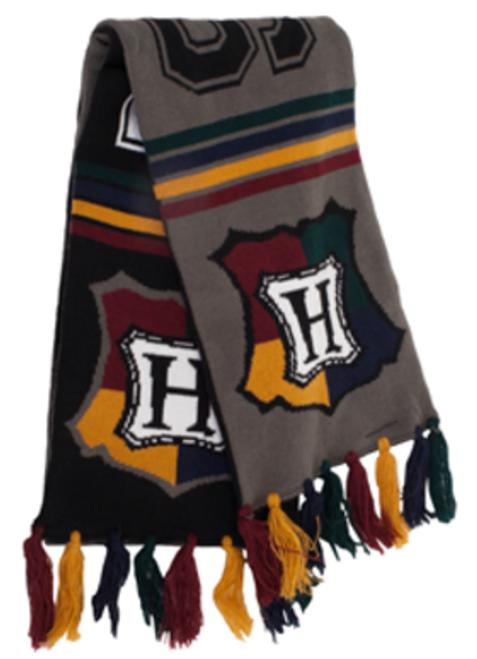Hogwarts Reversible Varsity-Style Knit Scarf