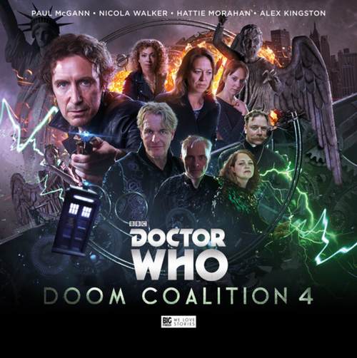 Doctor Who DOOM COALITION Eighth Doctor (Paul McGann) Audio Drama Boxed Set #4 from Big Finish