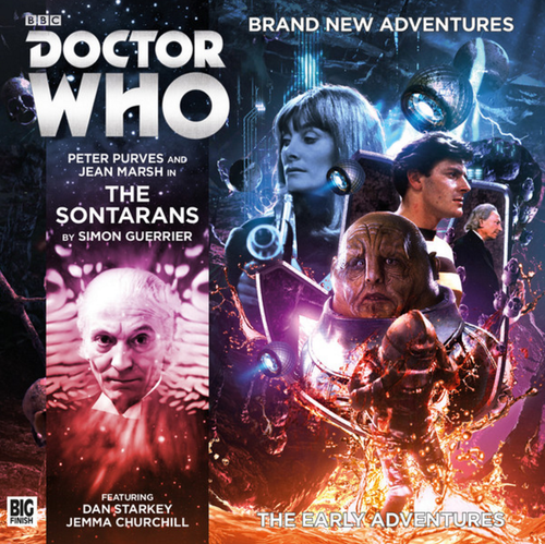The Early Adventures #3.4 - The Sontarans - Big Finish Audio CD
