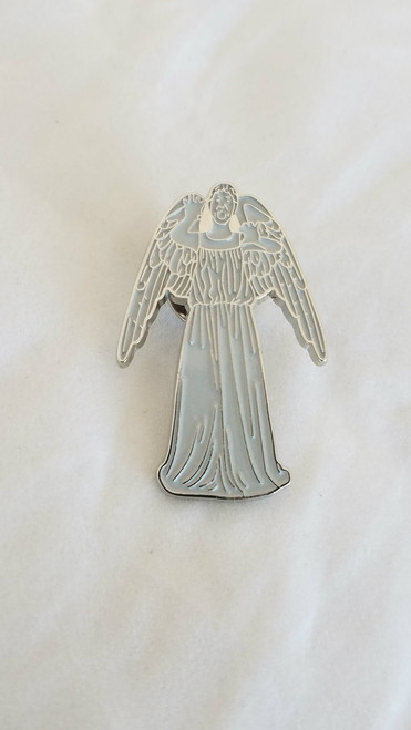 Weeping Angel Enamel Pin