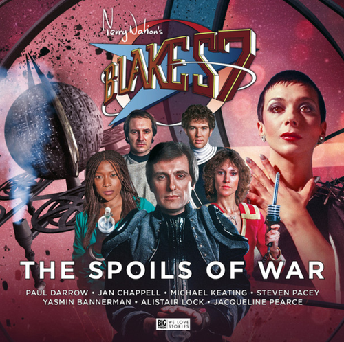 Big Finish Blake's 7: The Spoils of War Audio CD #3