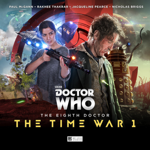 The Time War 1 - Eighth Doctor Big Finish Box Set
