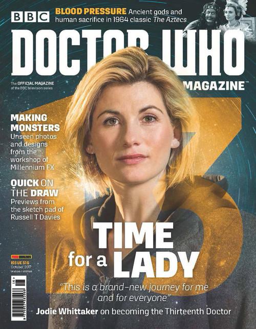 Doctor Who Magazine #516