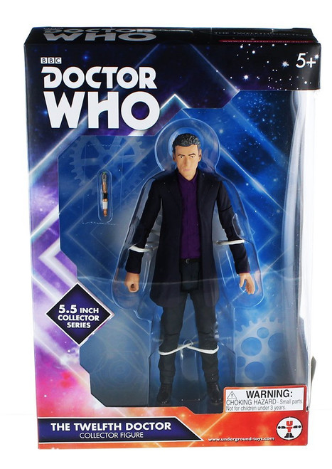 12th Doctor Peter Capaldi (With Purple Shirt) - Series 9 Action Figure - Character Options