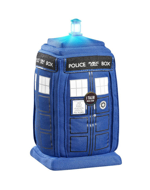 Talking and Flashing TARDIS Doctor Who Plush