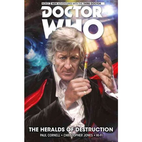 Doctor Who: The Third Doctor,  Vol. 1 - The Heralds of Destruction (Hardcover)