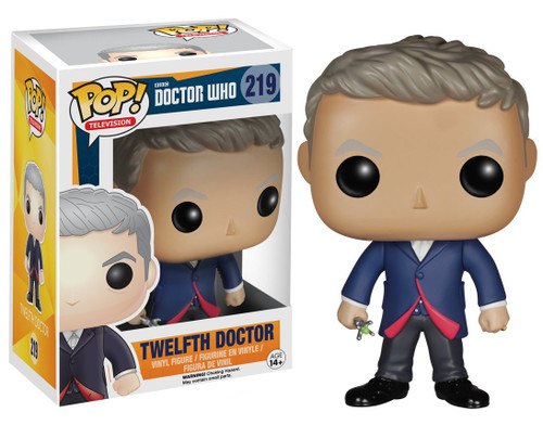 Funko POP Doctor Who - Twelfth Doctor Vinyl Figure