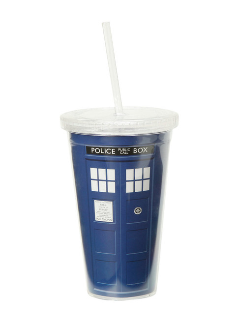 Doctor Who TARDIS Acrylic Travel Cup