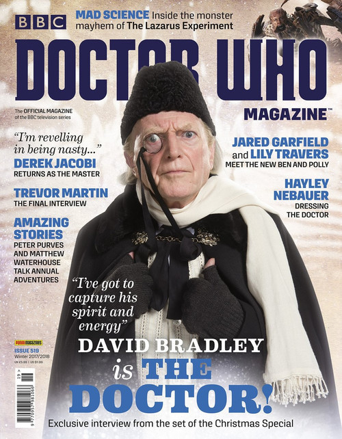 Doctor Who Magazine #519