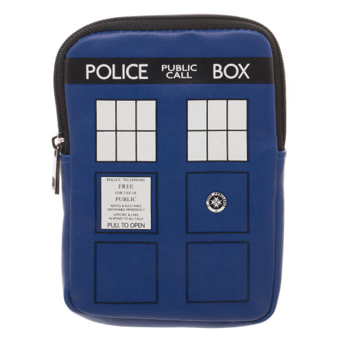 TARDIS Large Coin Pouch