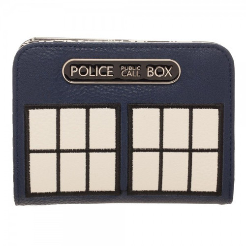 TARDIS Figural Wallet - Top Zip