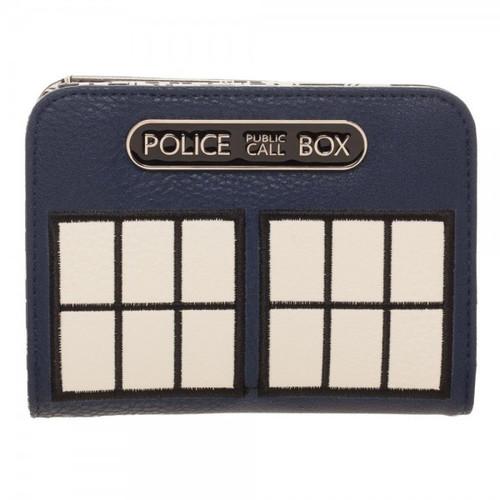 TARDIS Figural Wallet - Top Zip