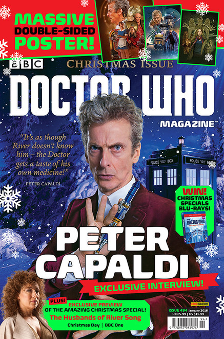 Doctor Who Magazine #494 - 100 Page Christmas Issue