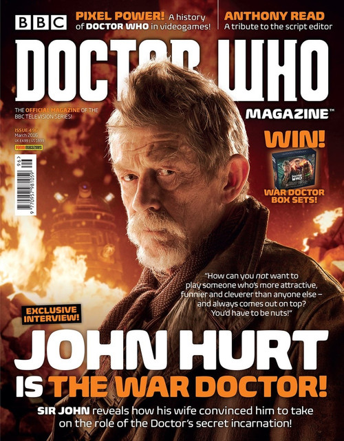 Doctor Who Magazine #496 - John Hurt is the War Doctor!