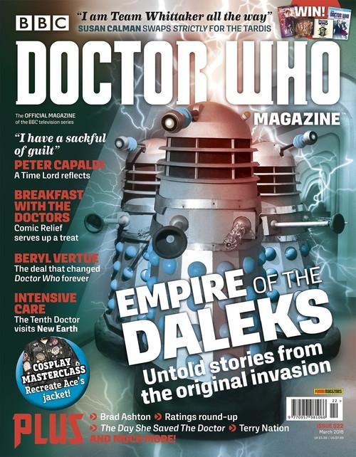 Doctor Who Magazine #522
