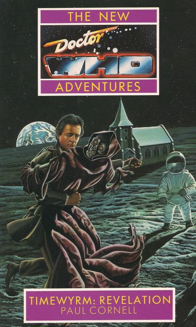 """Timewyrm: Revelation"" New Adventures Paperback Book"