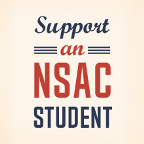 Support an NSAC Student $2 Donation