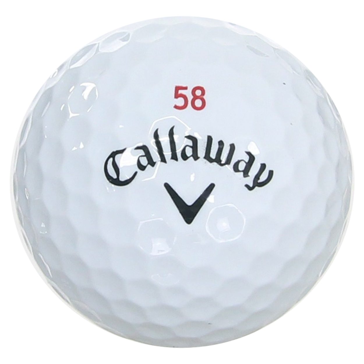 callaway chrome soft  u0026quot 58 u0026quot  limited edition golf ball