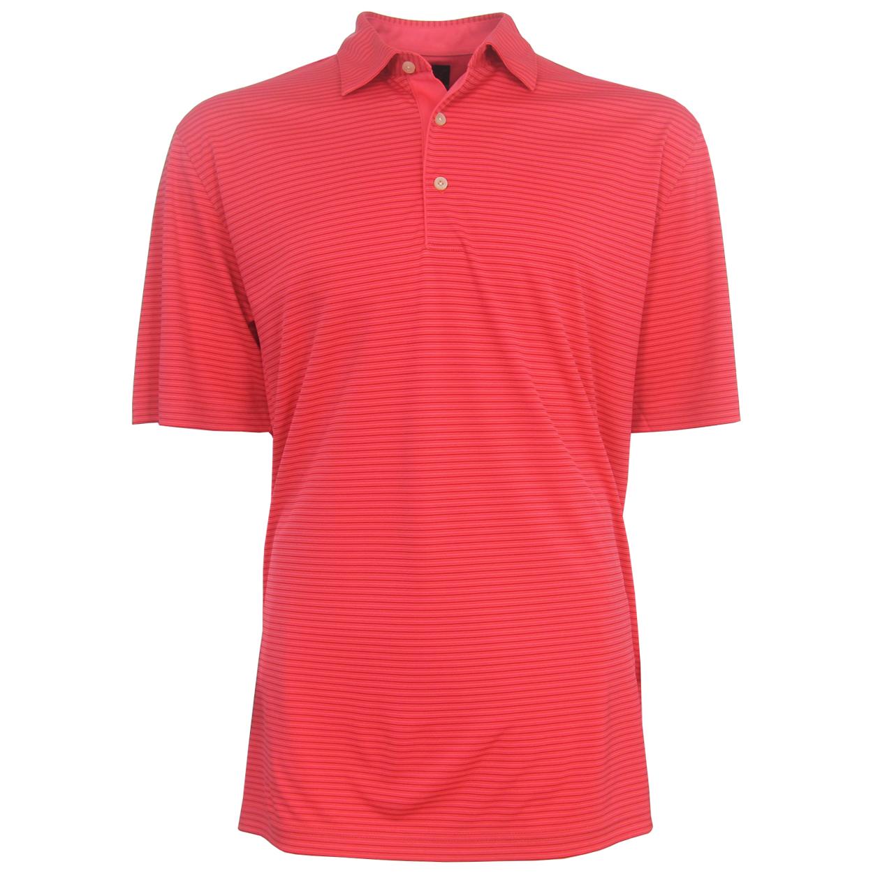 Greg norman ml75 tonal striped polo golf shirt closeout for Greg norman ml75 shirts