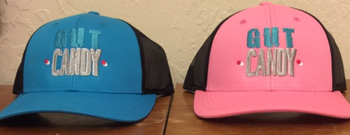 Blue & Pink Mesh Back Hat
