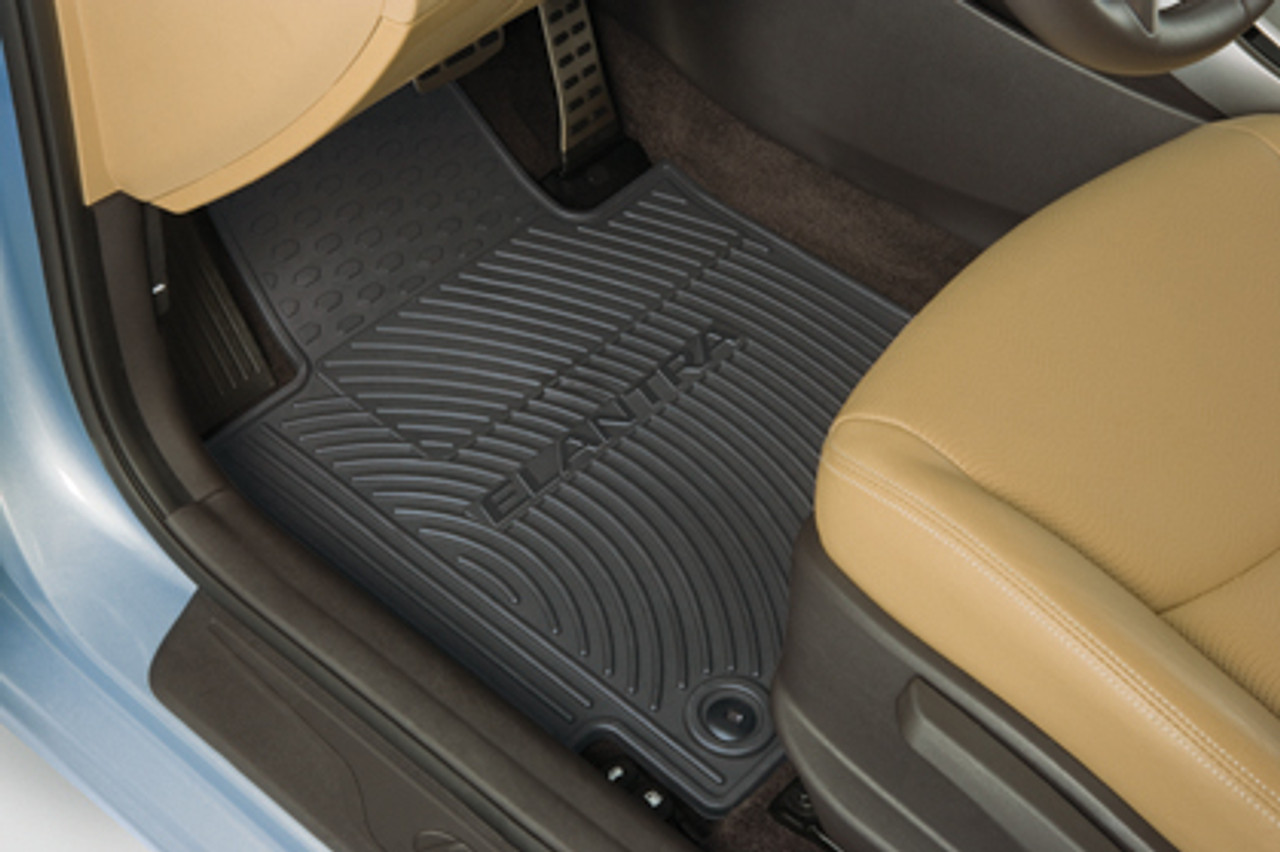 Hyundai Elantra Rubber Floor Mats Hyundai Shop