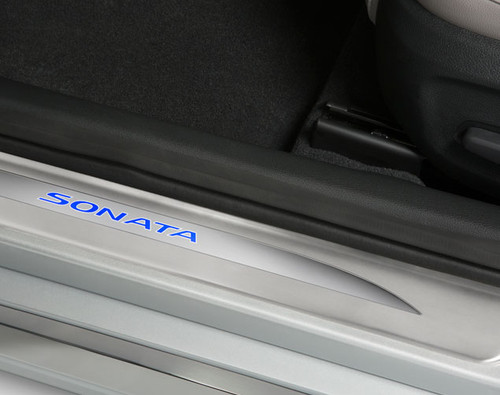 Hyundai Sonata LED Door Sill Plates