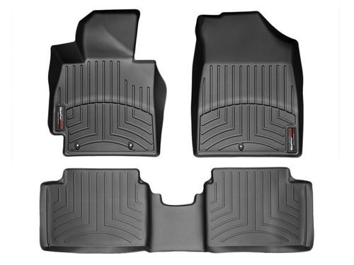 Hyundai Veloster WeatherTech FloorLiners - Black