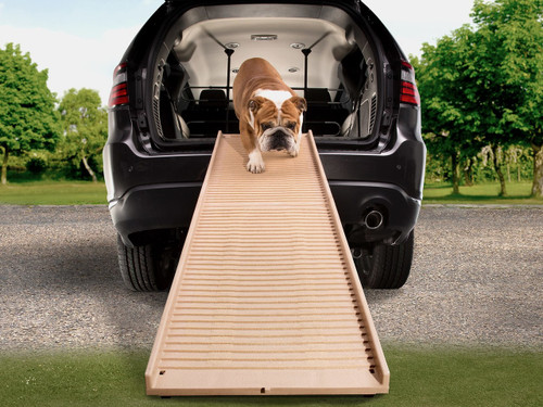 WeatherTech PetSTEP Foldable Pet Ramp - Khaki