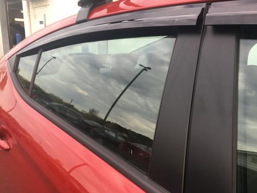 2017-2018 Hyundai Elantra GT Rain Guards (E063)