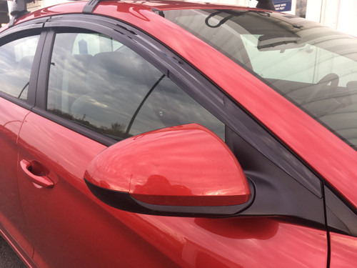 Hyundai Accent Rain Guards