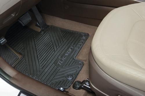 Hyundai Tucson Rubber Floor Mats