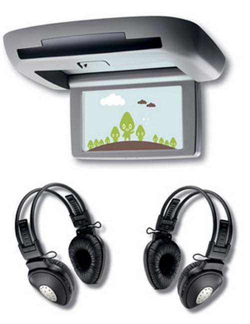 DVD Rear Headset