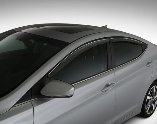 Hyundai Elantra Coupe Rain Guards