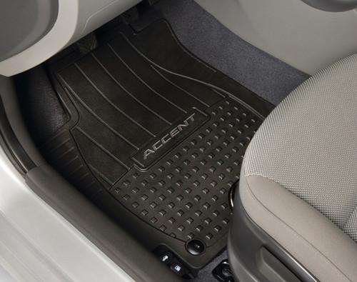 Hyundai Accent Rubber Floor Mats