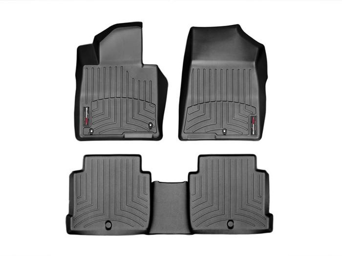 Hyundai Sonata WeatherTech FloorLiners - Black