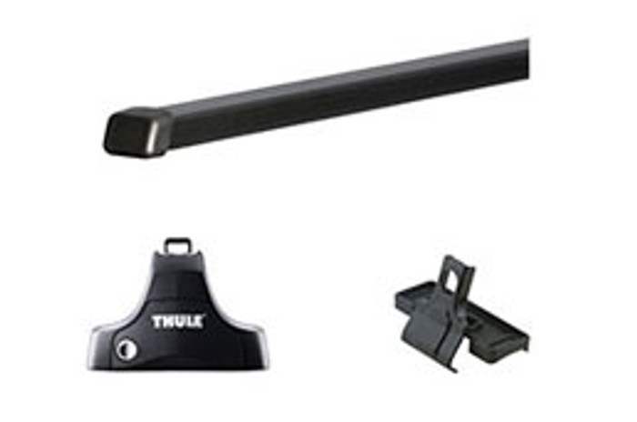 "Hyundai Elantra Touring Thule Roof Rack Kit - 50"" Square Bars"