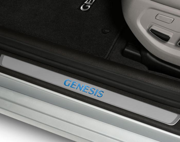 Hyundai Genesis LED Door Sill Plates