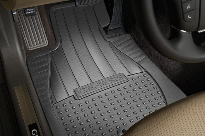 Hyundai Genesis Rubber Floor Mats