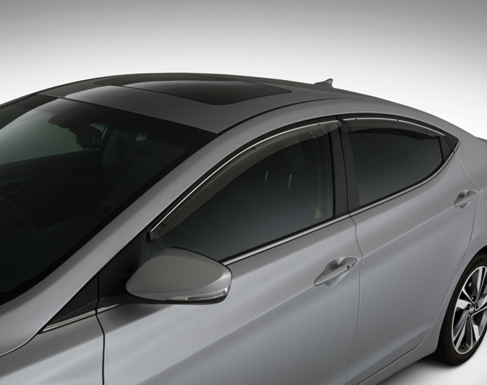 Hyundai Elantra Coupe Rain Guards (D093)
