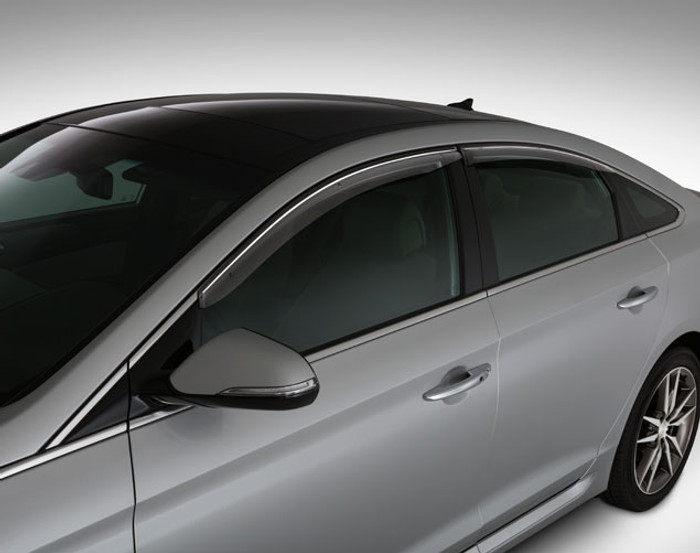Hyundai Sonata Rain Guards