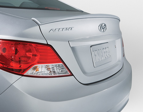 Hyundai Accent Rear Lip Spoiler Hyundai Shop
