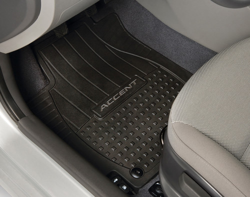 Hyundai Accent Rubber Floor Mats Hyundai Shop