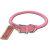 AUBURN Pink Rolled Leather