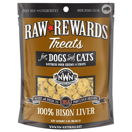 Northwest Naturals Freeze-dried Bison Liver Treats