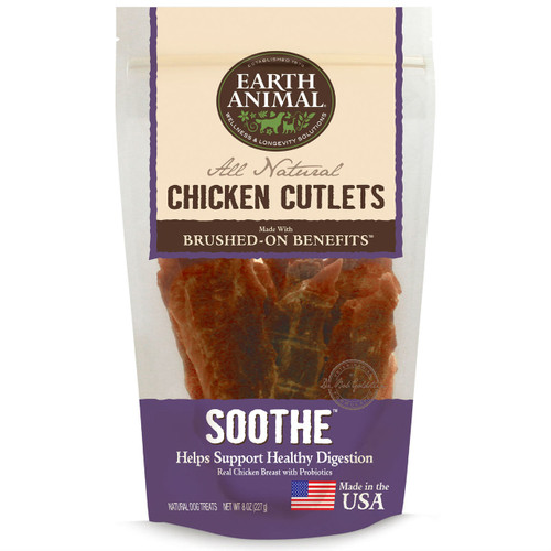 Earth Animal Chicken Cutlets Soothe Digestion