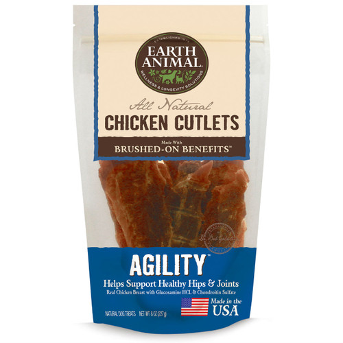 Earth Animal Chicken Cutlets Agility Joints