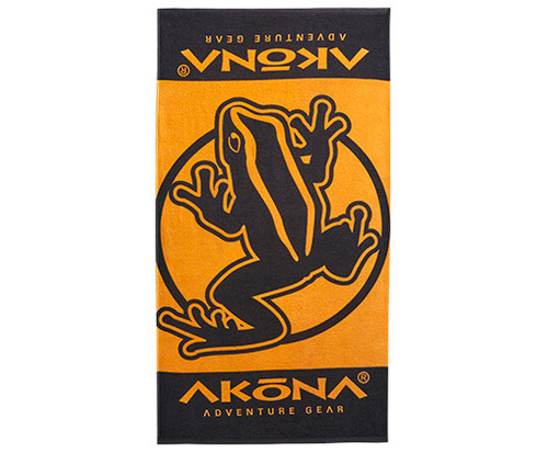 Free Akona beach towel included