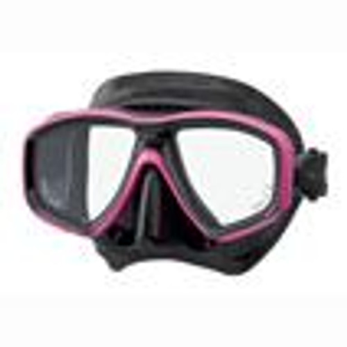 Tusa Ceos Mask - Black/Pink