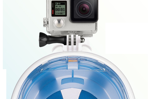 GoPro Adapter for Full Face Snorkeling Mask