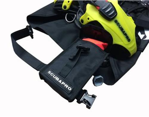 Scubapro Hydros Pro BCD Ninja Pocket - Unrolled